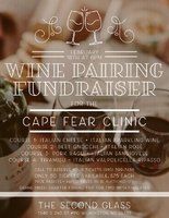 February 18th Wine Pairing Fund Raiser